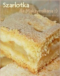 Składniki na ciasto: · 3 szklanki mąki krupczatki · 1 niep... Polish Desserts, Cookie Desserts, Cookie Recipes, Dessert Recipes, Apple Recipes, Sweet Recipes, Baking Recipes, Kolaci I Torte, Sandwich Cake