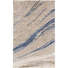 Bring luxury to your home with this contemporary area rug. Hand-Tufted with 100-percent banana silk in India, this abstract designed rug will add a pop of color and the finishing touch to your décor.