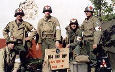 Combat Medic | (membersof Litter Bearer Platoon) Collecting Company,329th Medical ...