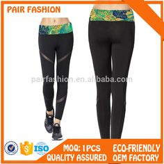 Low Price whloesale custom printed leggings sexy fitness for girls