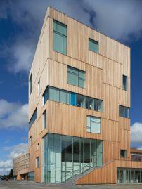 Museum von Henning Larsen in Schweden / Im Holzturm - Architektur und Architekten - News / Meldungen / Nachrichten - BauNetz.de