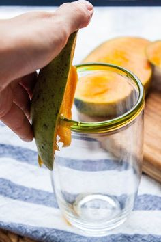 Can a Drinking Glass Really Peel a Mango?