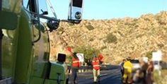 Muere conductor de manera trágica en La Rumorosa; cayo al vacio