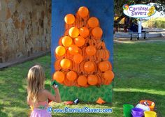 Pop a Pumpkin DIY Fall Festival Game
