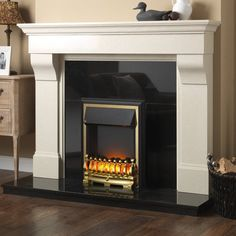 wooden fireplace surrounds - Google Search