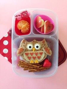 Owl always love you Valentine lunch box! | packed with @EasyLunchboxes