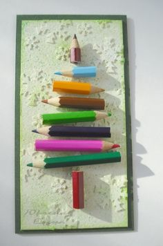 Pencil Tree too cute for office, school teacher! Pencil Christmas Tree, Christmas Paper Crafts, Christmas Activities, Christmas Projects, Winter Christmas, Christmas Holidays, Christmas Ornaments, Christmas Thoughts, Winter Crafts For Kids