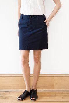 Organic by John Patrick Mini Skirt