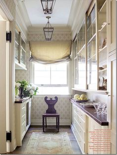 Very pretty butler's pantry