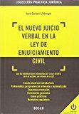 Resumen legislativo sobre la tramitación del nuevo Juicio Verbal Civil, en vigor desde el día 7 de octubre de 2015 por la Ley 42/15 de reforma de la LECiv.