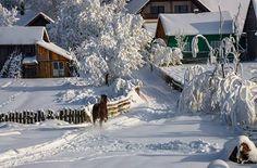 Iarna in Ardeal