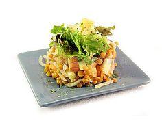 Receta de ensalada de lentejas, manzana, apio y lechuga   EROSKI CONSUMER