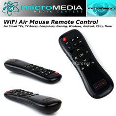 Wireless  Air Mouse   PCs Smart TVs TV box XBox Gaming Windows Android Linux Mac #MediaVision