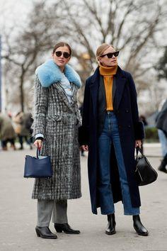 womans street style thick clothes - DIMANCHE Glamour d278cbd8485