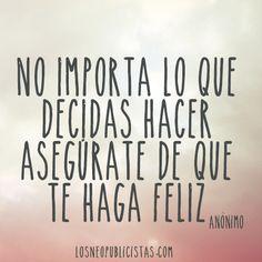 #felicidad #frases #inspiración