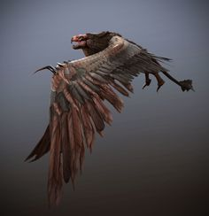 ArtStation - Creature Game art Demo_Griffin, Tyler Smith