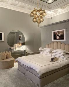 Sleepo Art Sänggavel Beige - Sänggavlar - Lilly is Love Bedroom Inspo, Home Decor Bedroom, Room Color Schemes, Headboards For Beds, Home Office Design, House Rooms, Home Decor Inspiration, Interior Design, Helsingborg
