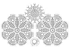 Chaqueta tejida a crochet con grannies ⋆ Manualidades Y DIYManualidades Y DIY