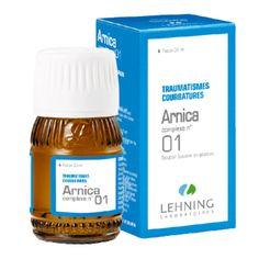 Lehning n°1 à base d'Arnica est traditionnellement utilisé dans les douleurs musculotendineuses consécutives aux traumatismes ou à des efforts et dans les courbatures.
