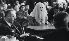 """""""Hooded Witness,"""" from an unknown photographer"""