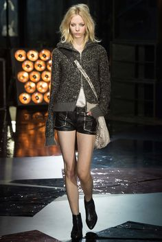 Zadig & Voltaire Fall 2015 Ready-to-Wear Fashion Show