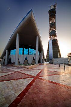 Modern Mosque   by Jon Bowles