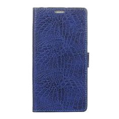 Crocodile pattern leather Case For Fundas Wileyfox Spark Cover Luxury wallet Filp Stand Mobile Phone Bags Cases #Affiliate