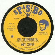 Andy Cooper - You! (Spasibo) #music #vinyl #musiconvinyl #soundshelter #recordstore #vinylrecords #dj #HipHop