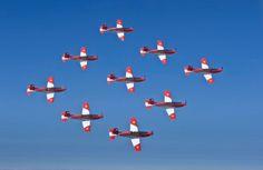 Swiss Air Force PC-7 Aerobatics Team