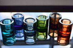 Scandinavian Design, Shot Glass, Nest, Candles, Colors, Tableware, Beautiful, Collection, Homes