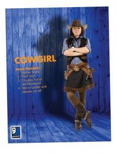 Goodwill Halloween Costume Creation Idea-Cowgirl