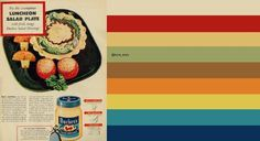 1942 Food Ad, Duchess Salad Dressing, Luncheon Salad Plate: original image ©Classic Film via http://www.flickr.com/photos/29069717@N02/13116043514/in/pool-kitschen/