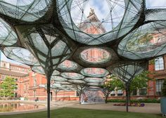 The best outdoor installations to see this summer include a pavilion built by robots in the V&A garden