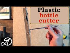 Plastic bottle cutter (A device for cutting ribbon of PET bottles) - YouTube