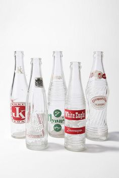 Vintage Bottle Collection at Urban Outfitters   Set of 5  $19