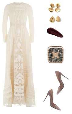 """""""dreamy dresses"""" by remedijos ❤ liked on Polyvore featuring Valentino, Dolce&Gabbana, Manolo Blahnik, Surratt and dreamydresses"""