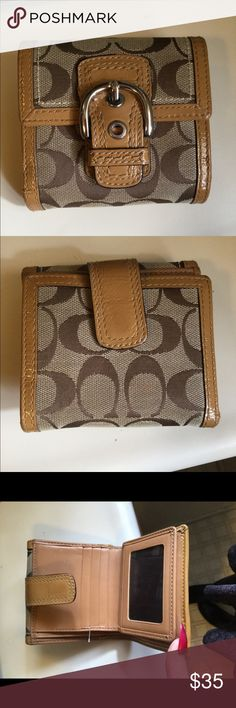 Authentic coach wallet In good condition normal wear Coach Other