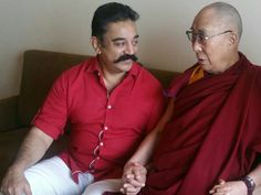 Ulaganayagan Kamal Haasan met His holiness Dalai Lama | writeanbhu