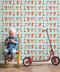 """Marionette"" wallpaper from Ferm Living"