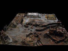 Board, Orks, Scenery Ork, Terrain, Territory Orks, Warhammer 40,000
