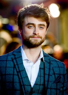 Daniel Radcliffe attends the UK Premiere of 'Horns' at Odeon West End,October 20