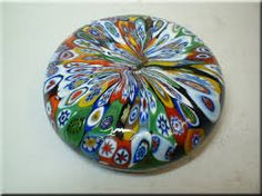 blown glass paperwieght
