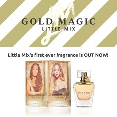 #AD It's the first ever fragrance from Little Mix, it's FABULOUS, and it's available now! #GoldMagic #LittleMix