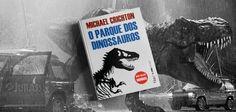 Jurassic Park, o livro. | Tem mais sobre a literatura dos anos 90 em cantodosclassicos.com