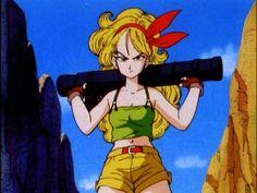 launch dbz | Dragon Ball Females Launch with bazooka.