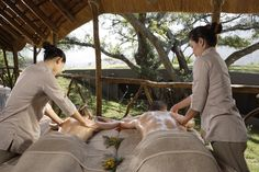 Treatments with a view at Karkloof Safari Spa, South Africa