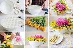 beautiful flower bowl