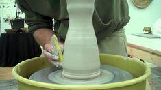 No Drip- No Trim Pitcher - Gabriel Kline 2010 video pottery ceramics clay