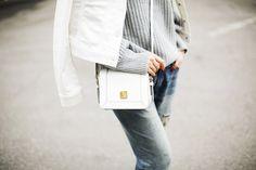 Exploring three ways to wear the Uniqlo white denim jacket