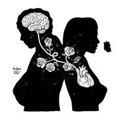 New Quotes Love Soulmate Feelings Soul Mates Ideas Music Tattoos, Love Tattoos, Heartbroken Drawings, Soul Mate Love, Soul Mates, Feeling Heartbroken, Art Amour, Art Et Illustration, Love Couple